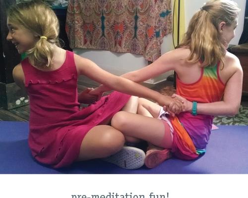 Pre-meditation fun!