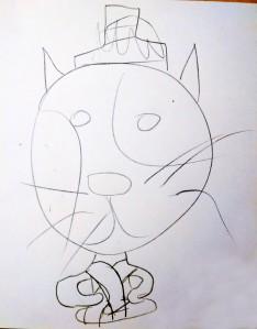 Meditation Buddy Sketch 2