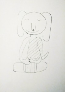 Meditation Buddy Sketch 1