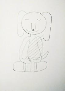 Meditation Buddy Sketch 1