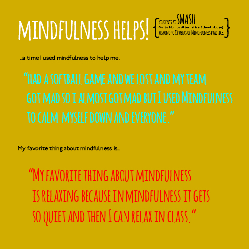 mindfulness helps!